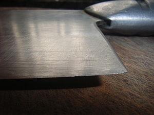 Kitchen Knife 05 cutting edge
