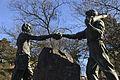 Kladno, Cyrila Boudy, Vaňův kámen, památník II.jpg