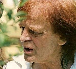 Klaus Kinski - At the Cannes Film Festival, late 1980s