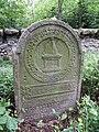 KnL - židovský hřbitov - starý náhrobek 1.jpg