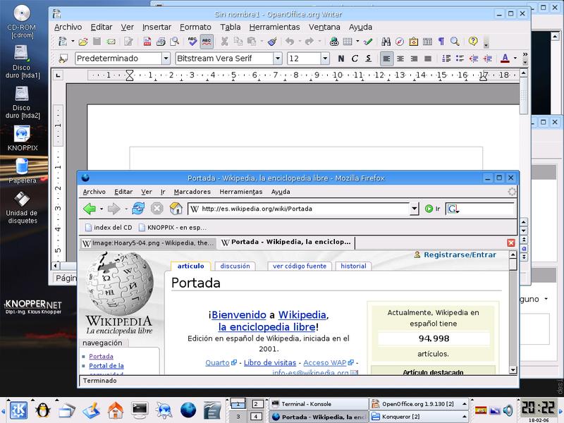 knoppix 5.1.1 live cd