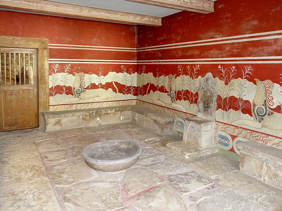 Knossos Thronsaal 04