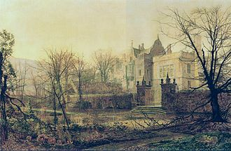 John Atkinson Grimshaw - One of his paintings of Knostrop Hall