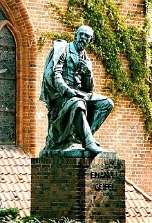 Geibel-Denkmal in Lübeck (Quelle: Wikimedia)