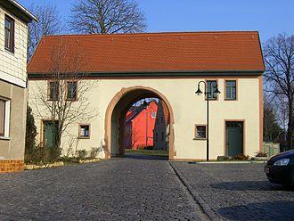 Kölleda - The Backleber gate