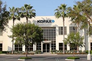 Kofax American process automation software provider