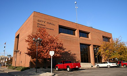 City Hall and Police Department building. Kokomo-indiana-city-hall.jpg