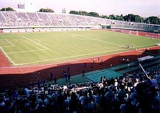 Football at the 1964 Summer Olympics - Image: Komazawa feeld