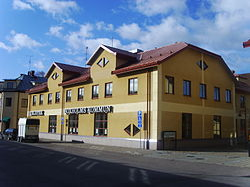 Kommunhuset och huvudbiblioteket i Boxholm, den 12 oktober 2008.JPG