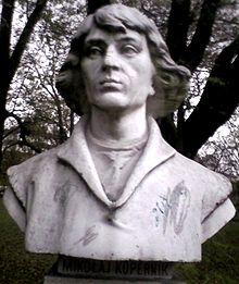 Busto marmoreo di Niccolò Copernico, Jordan Park, Cracovia
