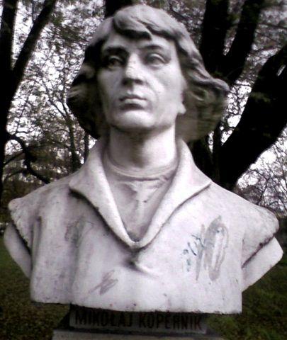 Бюст Коперника в Кракове