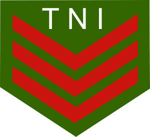 Master corporal - The Master Corporal rank insignia of the Indonesian Army