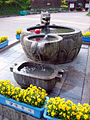 Korea-Andong-Bongjeongsa 3031-06 Entrance Fountain.JPG