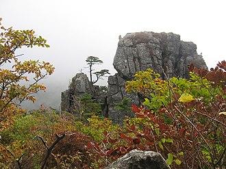 Jirisan - Image: Korea Mountain Jirisan 15