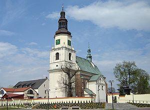 Krzepice - St. Jacob's church