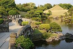 el suizenji jojuen jardn ubicado en la prefectura de kumammoto - Jardines Japoneses
