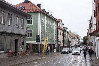 Lysekil - Image: Kungsgatan, Lysekil 02