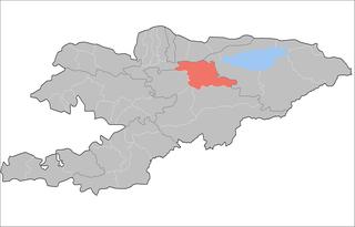 Kochkor District Raion in Naryn Region, Kyrgyzstan