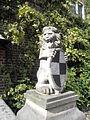 Löwenfigur im Burgmannshof Grafen von Westerholt Haselünne.jpg