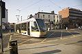 LUAS TRAM ENTERING STORE STREET (2271829149).jpg