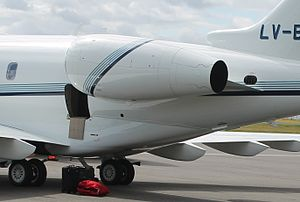 Honeywell HTF7000 - installed on a Bombardier Challenger 300