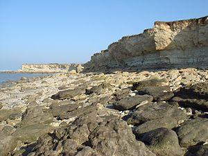 La Pointe du Chay - The cliffs at La Pointe du Chay.