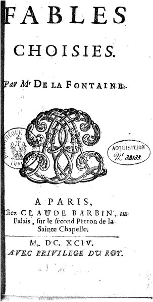 Fichier:La Fontaine - Fables choisies, Barbin 1694, tome 5.djvu