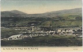 Baie St-Paul entre 1903-1920