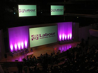 2007 Labour Party (UK) leadership election - Labour Leadership rally Bridgewater Hall Manchester 24 June 2007