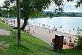 Lac de Chalain (Doucier beach in summer).jpg