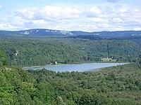 Lac de Chambly - Jura (France).JPG