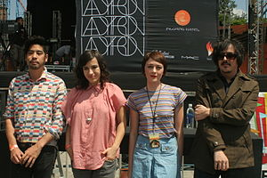 Ladytron conference in Mexico (2011).jpg