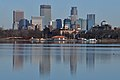 Lake Calhoun refectory and downtown Minneapolis skyline 2017-12-02.jpg