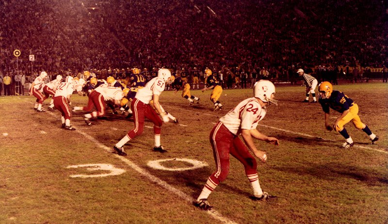 cif final, cif 4-A final, lakewood vs bishop amat, lancers, los angeles coliseum, 1970