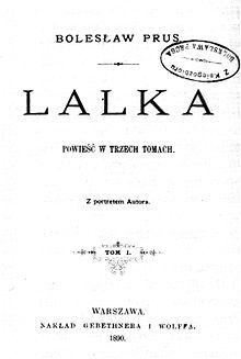 Lalka Bolesław Prus Wikicytaty
