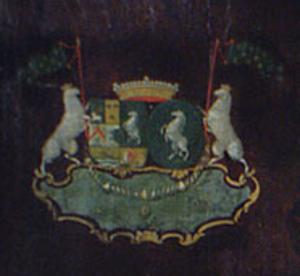 Adrian Lampsins - Image: Lampsins Coat of Arms detail