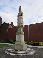 Lancashire Fusiliers memorial, Gallipoli Garden, Bury (5)