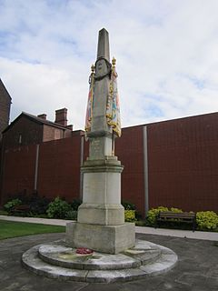 Lancashire Fusiliers War Memorial War memorial in Bury, UK