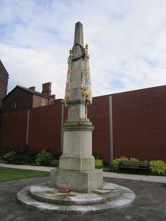 Lancashire Fusiliers memorial, Gallipoli Garden, Bury (5).JPG