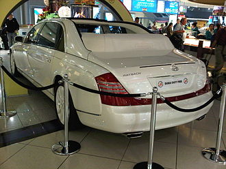 Landaulet - Maybach 62 landaulet at Dubai Airport