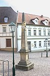 Landsberg (Saalekreis), Postmeilensäule.jpg