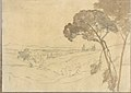 Landscape with Distant Buildings (Smaller Italian Sketchbook, leaf 27 recto) MET DP269436.jpg