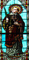 Laroque-Timbaut - Église Notre-Dame - Vitraux -2.JPG