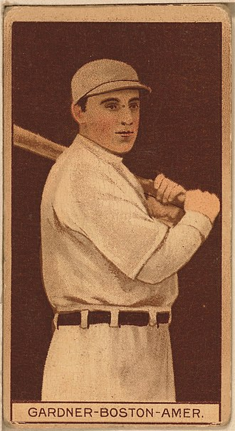 Larry Gardner - Image: Larry Gardner baseball card