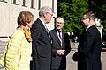 Latvijas Ministru prezidents Valdis Dombrovskis, Lietuvas Ministru prezidents Aļģirds Butkevičs (Algirdas Butkevičius) un Igaunijas premjerministrs Andruss Ansips (Andrus Ansip) apmeklē Baltijas attīstības forumu (8887733247).jpg