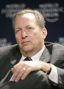 alt=Description de l'image Lawrence Summers, Davos.jpg.