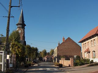 Le Maisnil Commune in Hauts-de-France, France