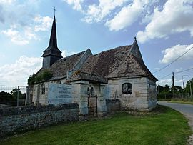 The church in Le Plessis-Sainte-Opportune