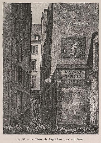 File:Le cabaret du Lapin Blanc, rue aux Fèves.jpg