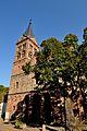 Le clocher de l'église de Lautenbach, un des lieux des exploits de Jeangala. DSC 2008.jpg
